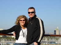 Ty and Richelle Tribble - Queen Mary in Long Beach